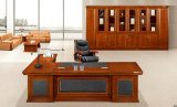 Chinese Style Red Walnut Solid Wood Office Desk for Company President