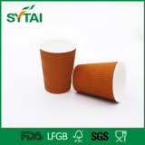 10oz High Quality Disposable Coffee Insulated Ripple Paper Cup