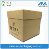Custom Kraft Paper Apparel Packaging Luxury Clothing Baseball Cap Box