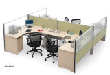 Traditional Office Furniture Wooden Workstation Partition
