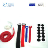 2017 Hot Sale Nylon, Polyester or Mixed Velcro Strap Tie for Internet