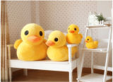 Custom Stuffed Yellow Duck Toy