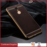 Hot Selling Products Litchi Grain Leather Back Cover Cases for Xiaomi