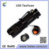UV Blacklight Flashlight UV LED Torch Light 395nm 3W