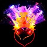 Fiber Optic Love LED Flashing Headbands