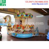 Swan Carousel for Kids Play (BJ-MGR100)