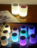 LED Night Light Speaker Touch Lamp