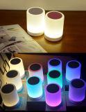 LED Night Light Speaker Touch Lamp