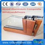 High Quality Australia Standard Aluminium Composite Wood Window