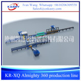 360 Automatic All Pipes and Profiles Cutting Robot