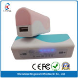5600mAh External Power Bank, USB Battery Charger for iPhone for HTC