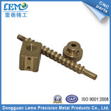 Brass Tunred Parts of Screw Rod for Packing Machine (LM-0516M)
