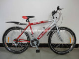 "Red Simple 26"" Bicycle with Double Alloy Rim (SH-MTB048)"