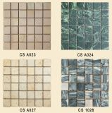 Natural Mixed Color, Interior Wall Floor Marble Stone Mosaic Tiles (PAGE2-G)
