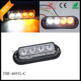 Amber White Dual-Colored Strobe Warning Lights