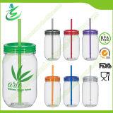 20oz BPA-Free Single Wall Mason Jar with Straw (MJ-F1)