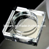 Transparent Optic Custom Cigar Ashtray /Glass Ashtray