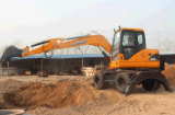 Mini Digger Wheel Excavator