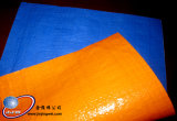 Blue / Orange PE Tarpaulin