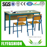 School Furniture Classroom Double Desk and Chair (ST-40)