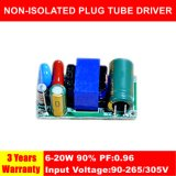 6-20W Hpf Non-Isolated Small Size Plug LED Tube Driver QS1310