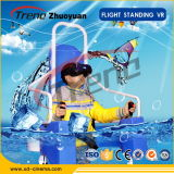 Factory Sale Zhuoyuan Stand-up Flight Vr Simulator