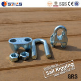 Galvanized Malleable Steel DIN741 Wire Rope Clip