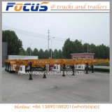 Single, Two, Three Axles Container Truck Semi Trailer, Truck Chassis for Transportation