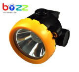 BK2000 2Ah Li Ion CE Certificate 1W Wireless Cordless Mining Headlamp, Miner Lamp, Mining Light