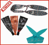 Customs Fashion Style Jersey Headband for Promotion