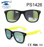 Large Frame Black Children Kid Plastic Sunglasses (PS1426)