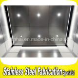 Decorative Etching Stainless Steel Elevator Ceiling Light Panel