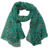Lady Fashion Polyester Voile Spring Silk Scarf (YKY4213)