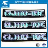 Plastic Rubber Aluminium Domed Sticker