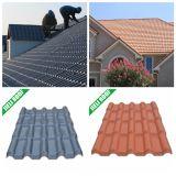 Anti-UV, Color Lasting Building Materil Plastic Spanish Roof Tile