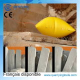 Durable Inflatable Polymer Air Push Cushion for Stone Quarry