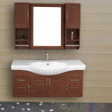Wall-Mounted Melamine or Plywood Board Bathroom Cabinet