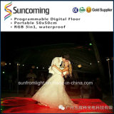 50X50cm Wedding LED Digitalp62.5 Dance Floor Portable