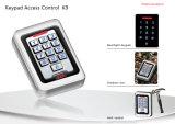 Waterproof IP68 Metal Keypad Access Control RFID Reader Device (K9EM-W)