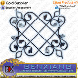 Wrought Iron Panels and Rosettes