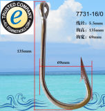 Anglers Top Quality Stainless Steel Extra Strong Anti Rust Fishing Hook 7731-16/0