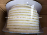 Sunwell P306 White PTFE Packing with Aramid Corners