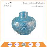 Embossed Pattern Glass Container for Kerosene Lantern