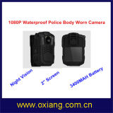 WiFi 4G Police Eqipment Body Camera with 3200mAh Battery and Night Vision