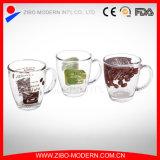 Wholesale High Qualtiy Transparent Glass Coffee Mugs