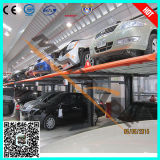 2017 Hydraulic Lifting Car Parking Lift Approved by TUV