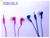 MP3 Stereo Music Earphone Player MP3 MP4 Metal Earphones