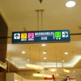High Quality LED Lighted Way Finding Sign for Shopping Mall