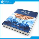 Square Spine Case Bound Color Book Printing with Slipcase