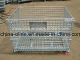 Euro Storage Metal Wire Mesh Container